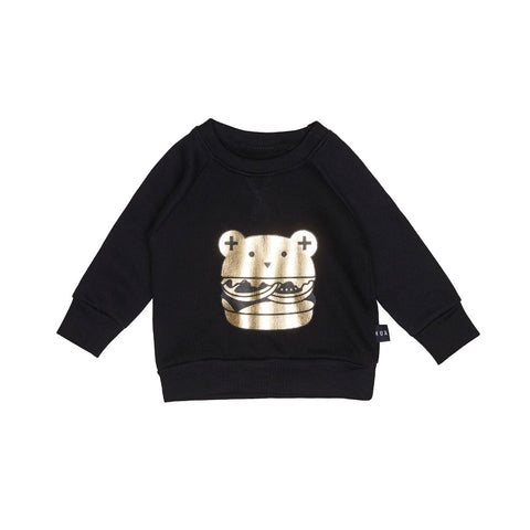 Huxburger Sweatshirt - Black