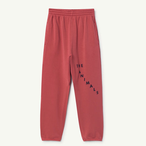 Red Sculptor Pants