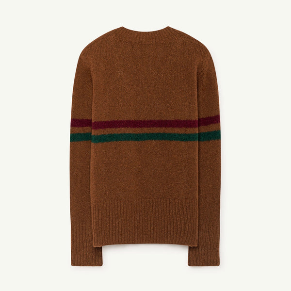 Brown Toucan Sweater