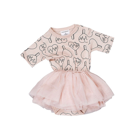 Heart Pop Ballet Onesie