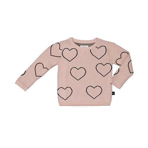 Heart Knit Jumper