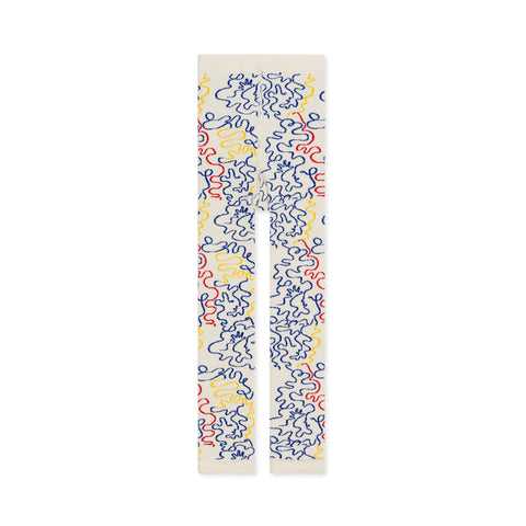 Squiggles Legging - Off White