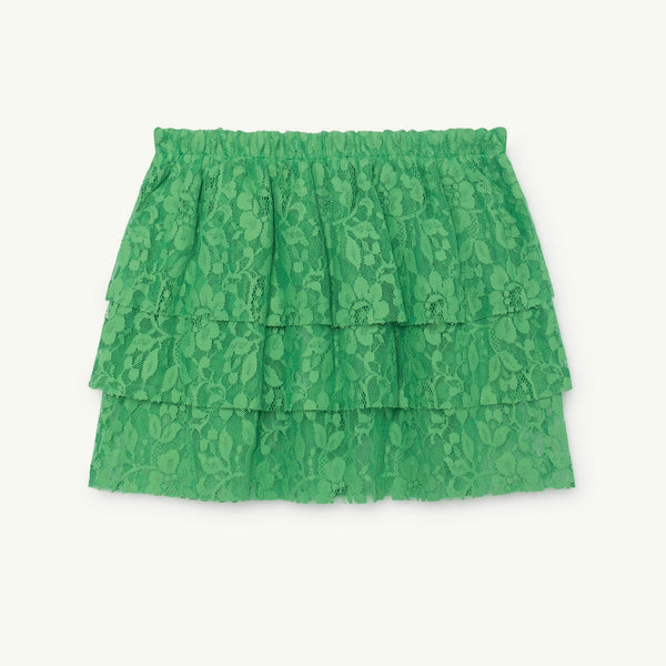 Turkey Kids Skirt - Electric Green