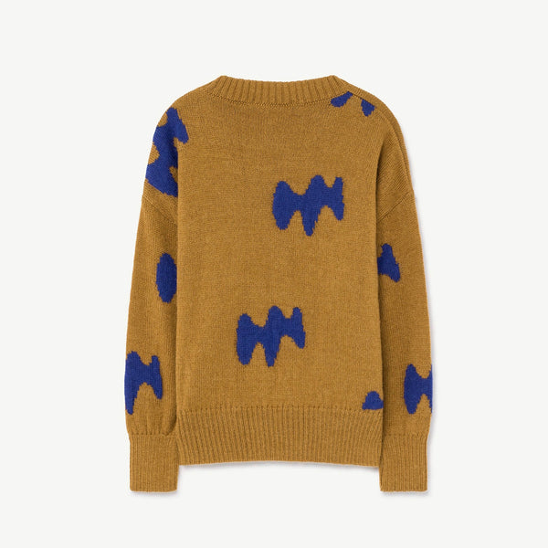 Raven Kids Sweater - Sand