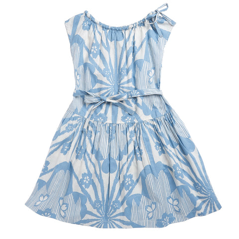 Notting Hill Dress - Blue Flower