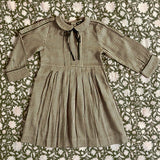 Vintage Dress - Check Fabric