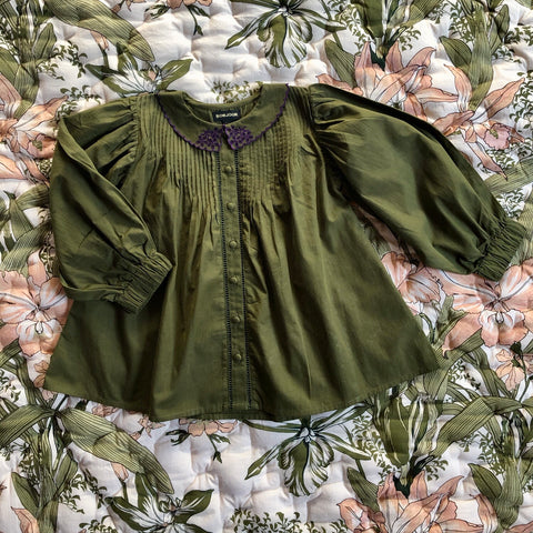 Madeleine Blouse - Green