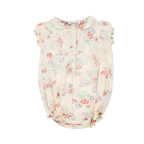 Twickenham Baby Romper - Floating Bouquet