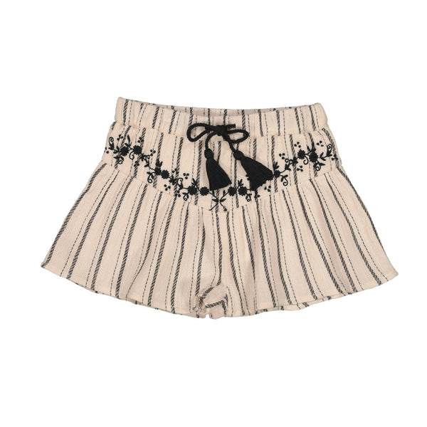 Short Eugenie - Black/White