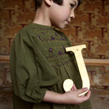 Balloon Blouse - Green