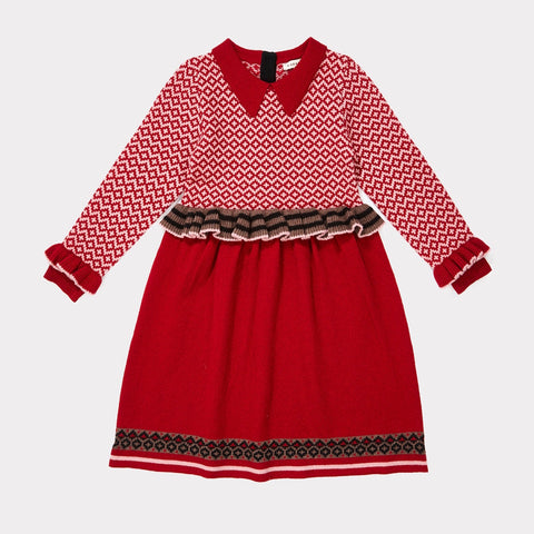 Zeus Dress - Winter Berry