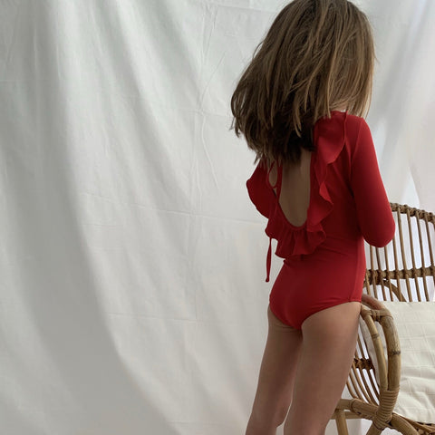 Palma Swimsuit in Red