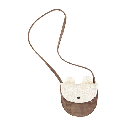 Bear Leather Bag
