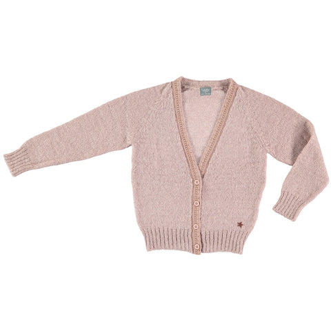 Knitted Cardigan - Pink