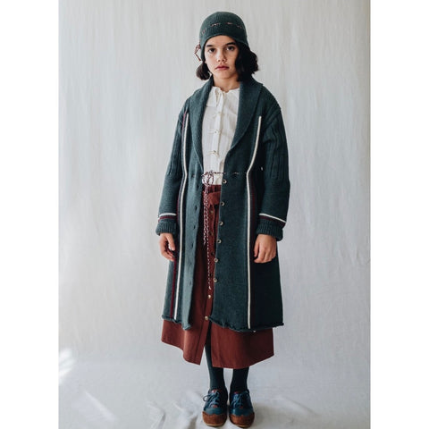 AP01 Coat - Green Wool