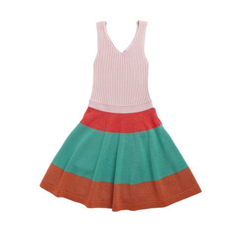 Redchurch Knitted Dress - Multi Colored