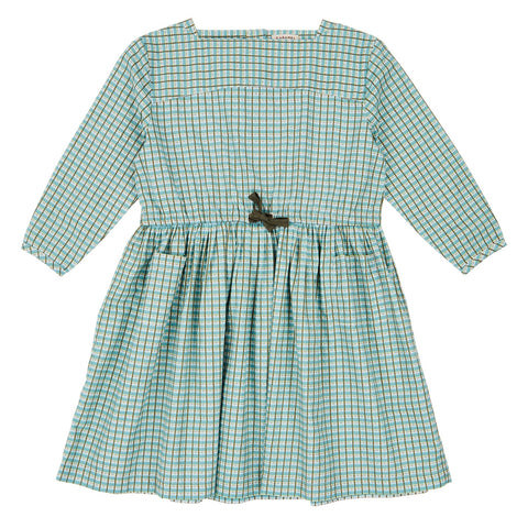 Knightsbridge Dress - Tourmaline Painted Check