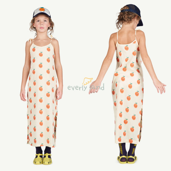 Hummingbird Kids Dress - Yellow