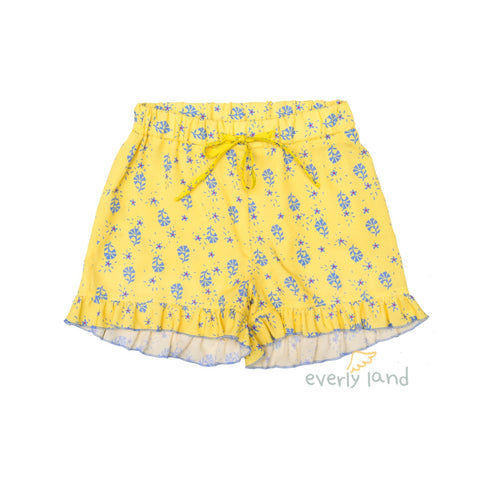 Shorts Viola - Yellow