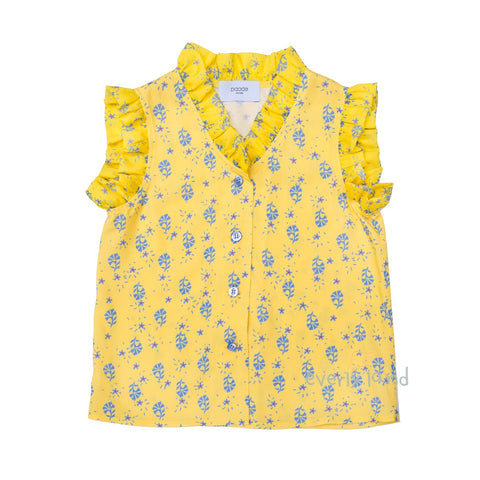 Blouse Viola - Yellow