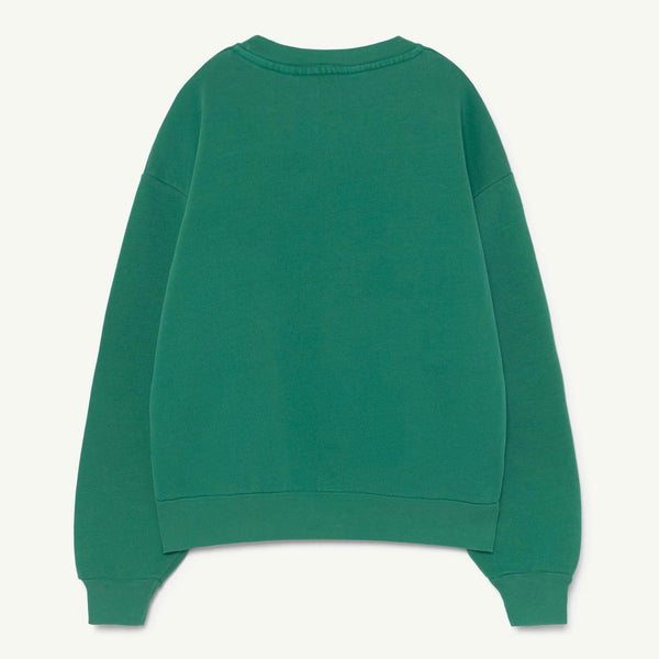 Bear Kids Sweatshirt - Green/The Animals