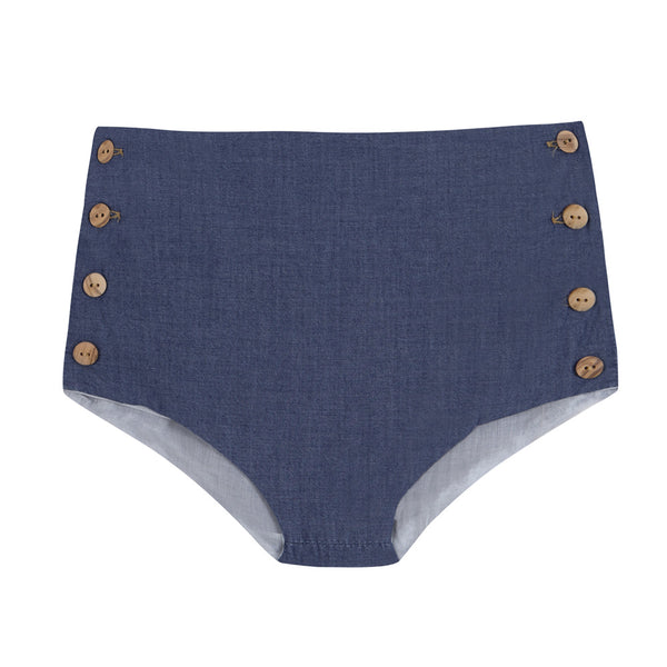 Culotte Retro - Denim