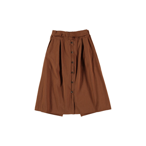 F03 Skirt - Cuir Nepal Trench