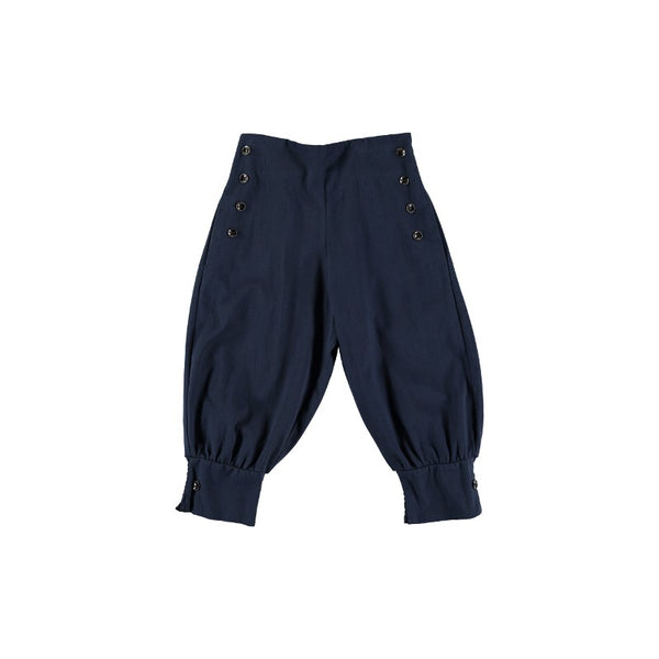 P01 Trousers - Navy Nepal Trench