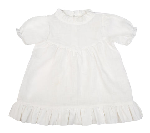 Odette Dress - Pearl White