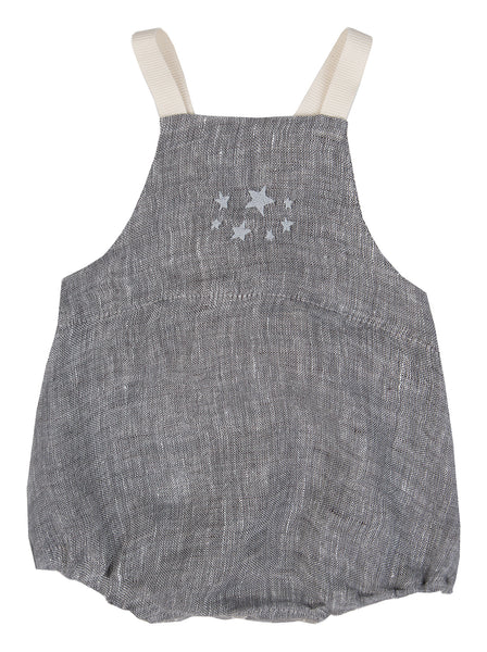 Roma Star Romper - Powder Grey