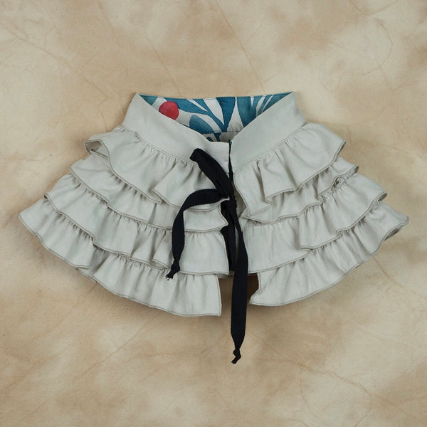 Off-White Frilled Collar