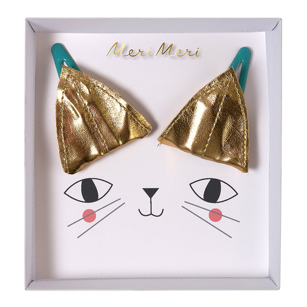 Hair Clips - Kitty Ears