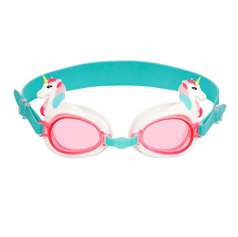 Shaped Swimming Goggles 3-9 - Unicorn