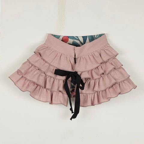Pink Frilled Collar