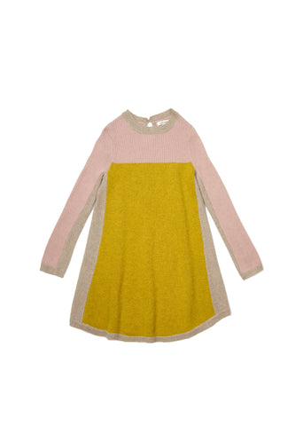 Applebey Knitted Dress - Silver Pink