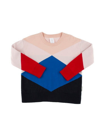Geometric Sweater