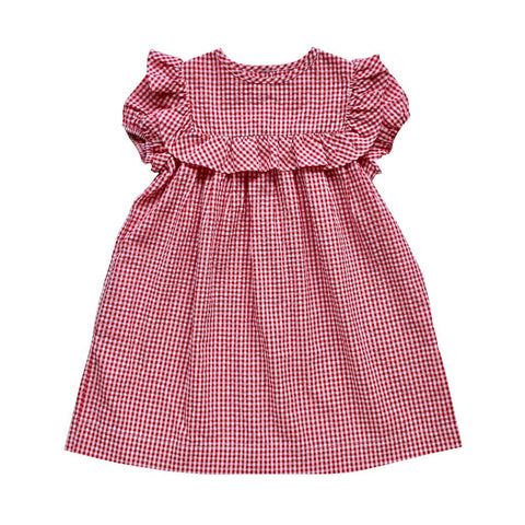 Willow Dress - Cherry