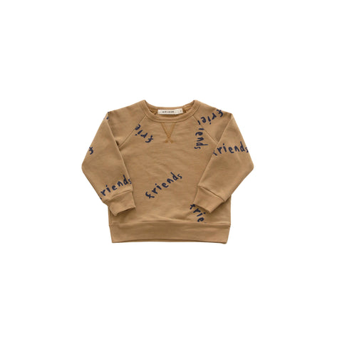 Friends Basic Sweatshirt - Golden