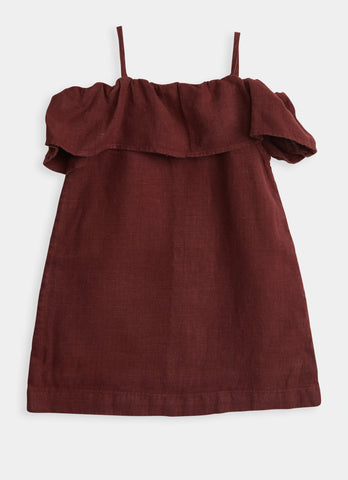 Bardot Dress - Mulberry