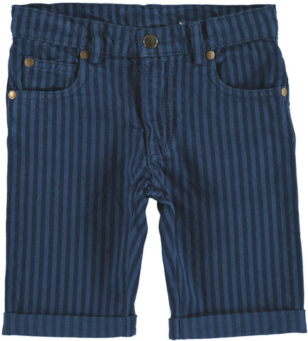Shorts Bermuda Dean - Blue Stripes