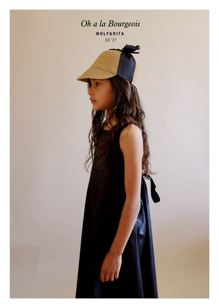 Mafalda Black Dress