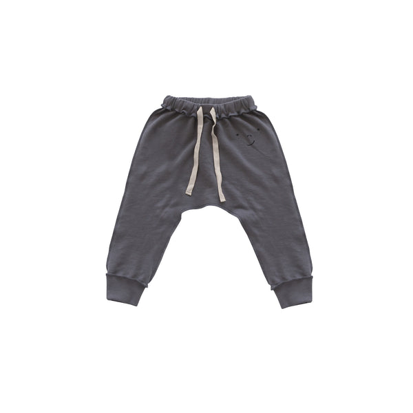 Freckle Face French Terry Pant - Charcoal