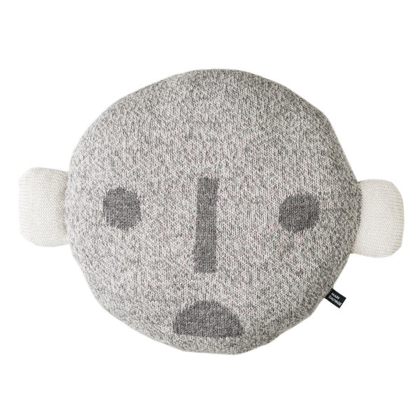 Face Pillow - Grey