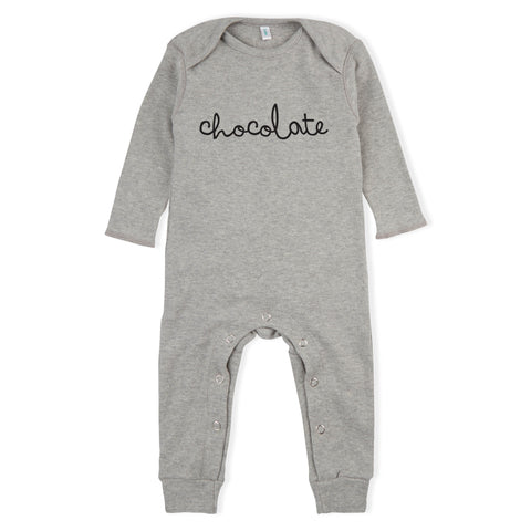 Chocolate Playsuit - Grey