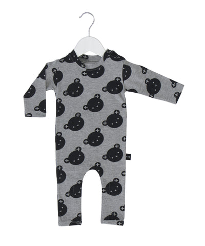Angle Bear Long Romper