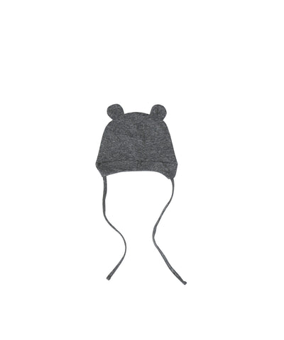 Bear Pilot Hat - Grey