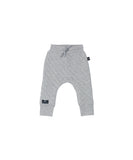 Stitch Drop Crotch Pant - Grey