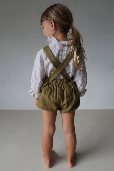 Anais Playsuit - Olive