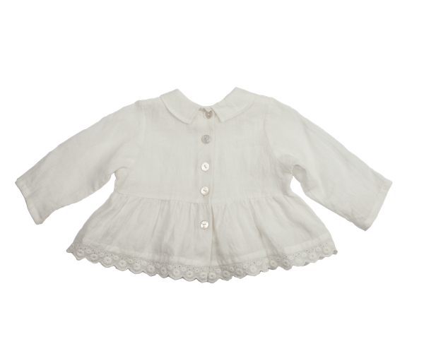 Harmony Blouse - White
