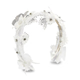 Sabine Headband - White